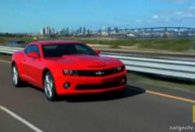 VIDEO: Cum a luat nastere Chevrolet Camaro