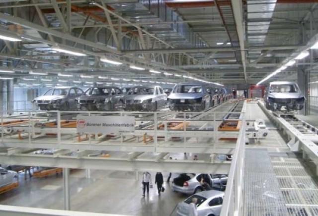 Putin a lansat noua fabrica Volkswagen din Rusia