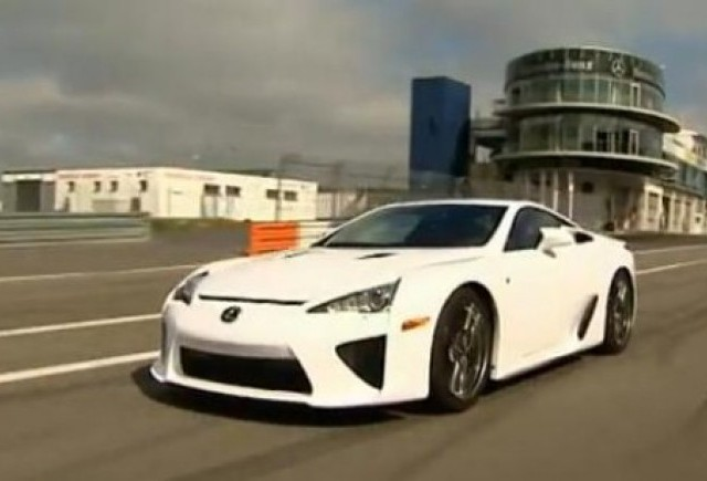 VIDEO: Noul Lexus LF-A