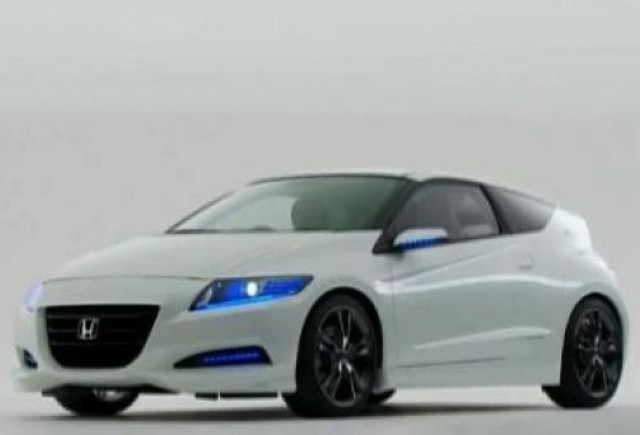 VIDEO: Conceptul Honda CR-Z Hybrid Sports Coupe se prezinta