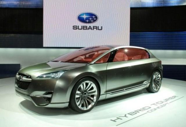 VIDEO: Subaru Hybrid Tourer Concept, prezentat la Tokyo