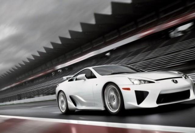 Toyota merge pe linie moarta cu Lexus LF-A