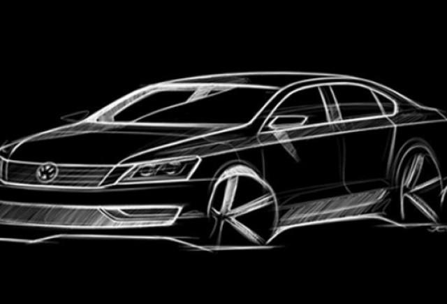 VW a dat publicitatii schita cu noul model american