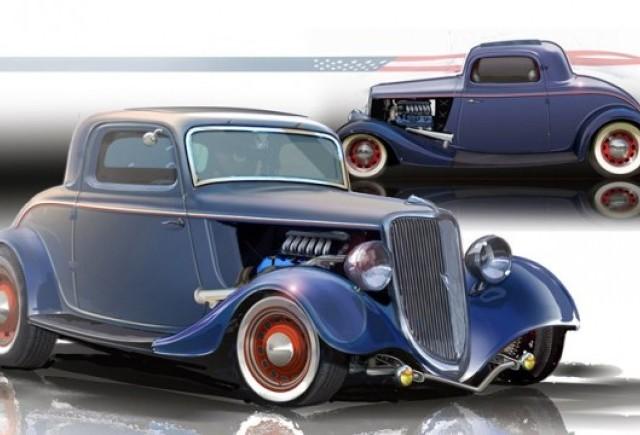 Ford din 1934 cu 400 CP se prezinta la SEMA