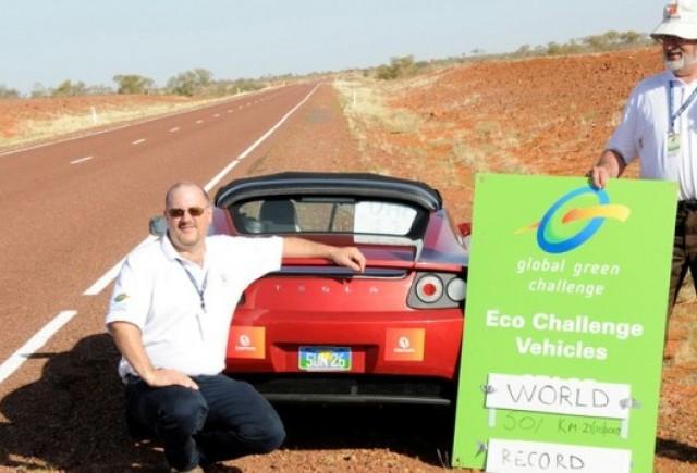 Record mondial de autonomie: 501 kilometri