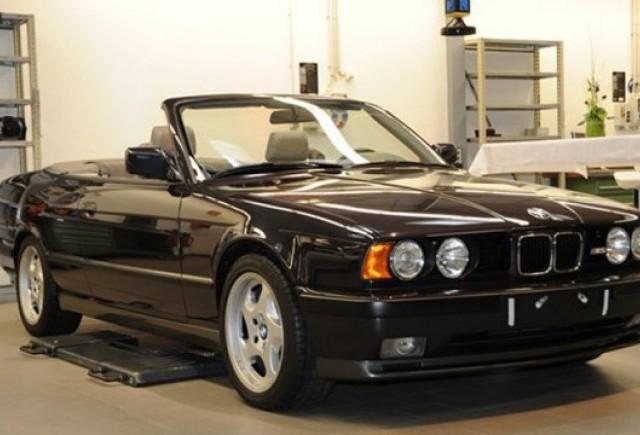 BMW a construit acum 20 de ani un M5 cabrio pe care l-a tinut secret