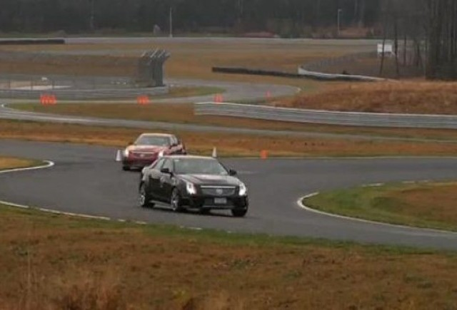 VIDEO: Cadillac CTS-V Challenge