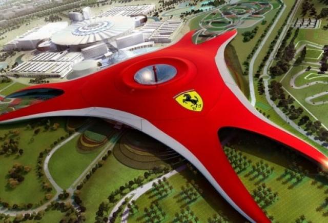 Primele imagini cu parcul Ferrari din Abu Dhabi