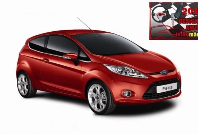 Ford Fiesta adjudeca titlul Designul Anului 2010 in Romania