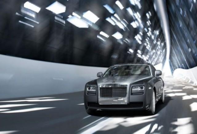 Versiune hibrida pentru Rolls-Royce Ghost