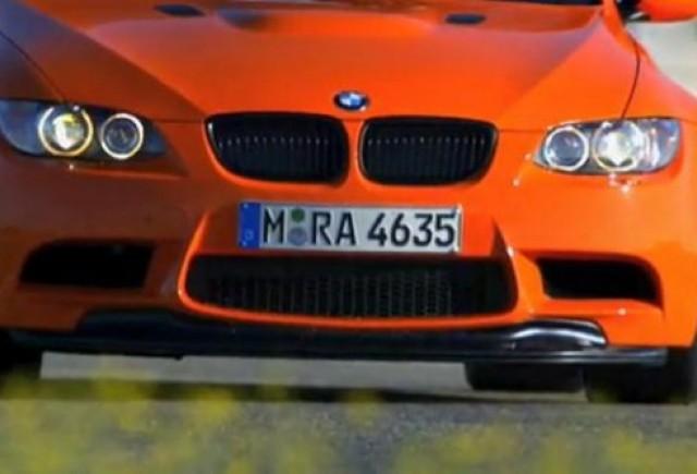 BMW M3 GTS se prezinta intr-un nou video
