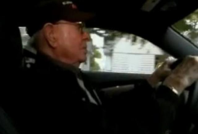 VIDEO: Si-a cumparat un Camaro SS la 101 ani