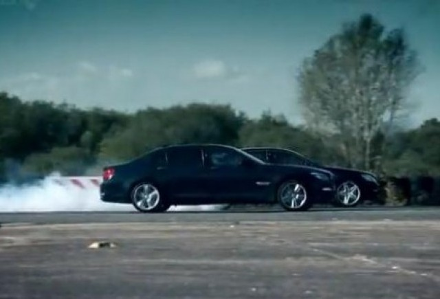 VIDEO: Top Gear confrunta BMW 760Li cu Mercedes S63 AMG