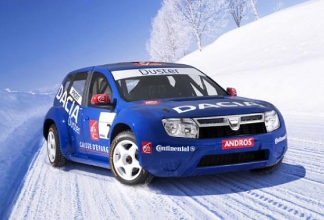 Prima infatisare a SUV-ului Dacia Duster!