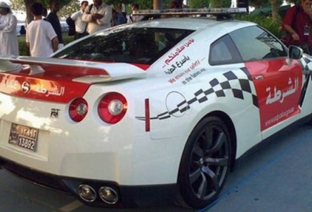 Nissan GT-R pentru politie