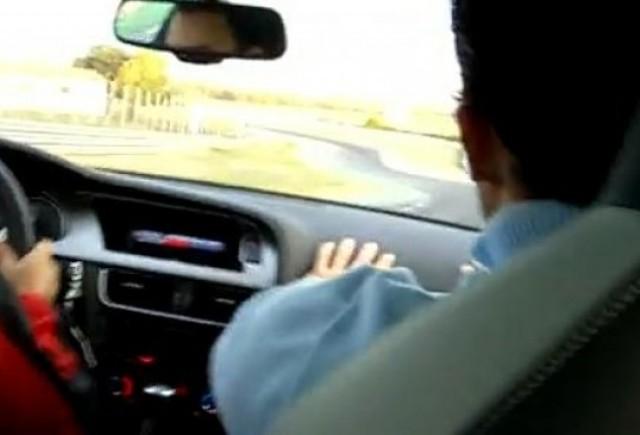 VIDEO: Drift-uri cu Audi S4