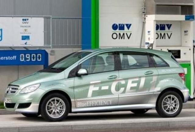 Daimler va lansa un model pe hidrogen in 2015