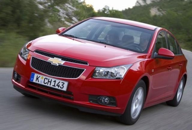 Chevrolet Cruze a luat 5 stele la testul EuroNCAP