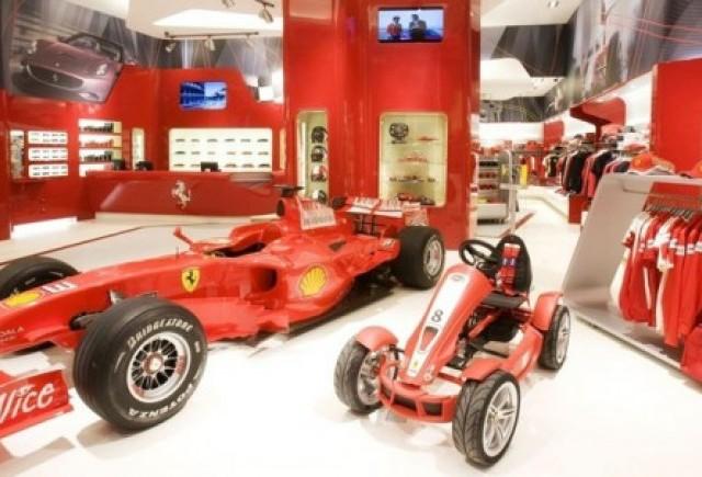 Ferrari Store Bucuresti, al doilea ca marime in Europa