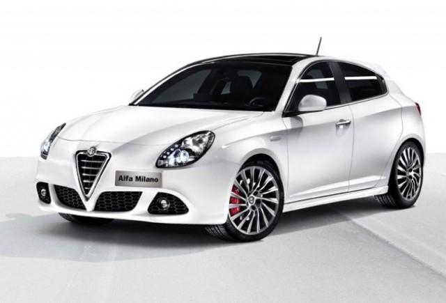 Prima imagine cu noul Alfa Romeo Milano
