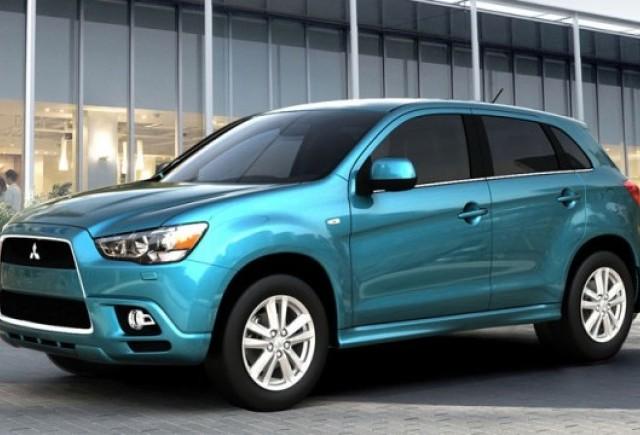 Primele imagini cu noul Mitsubishi RVR