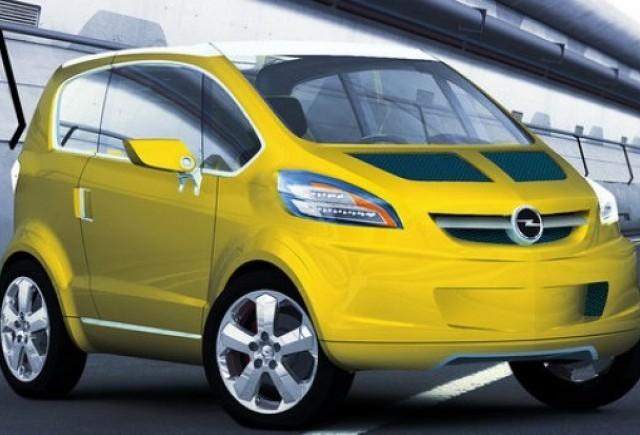 Opel pregateste un nou model mic