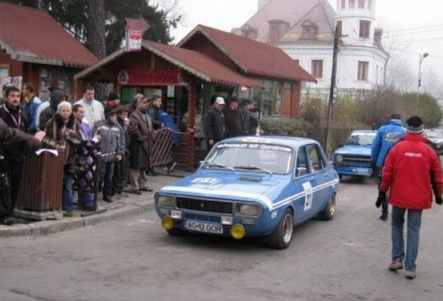 VIDEO: Rally Show Sinaia - linia de start
