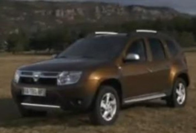 VIDEO: Dacia Duster, primul clip de prezentare