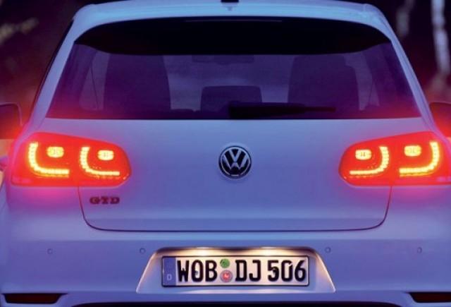 Vokswagen Golf, dotat cu LED-uri