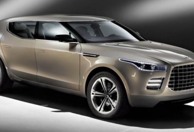 Noi imagini cu Aston Martin Lagonda