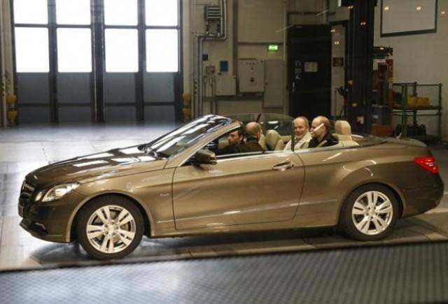 Mercedes a prezentat noul E-Klasse Cabrio