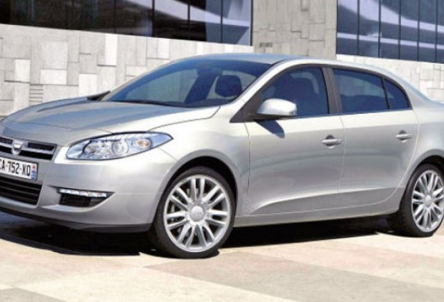 Dacia pregateste un sedan bazat pe Renault Fluence