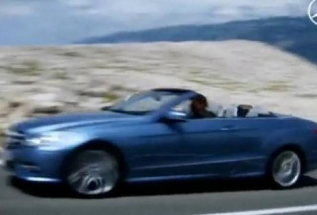 VIDEO: Primul clip cu noul Mercedes E-Klasse Cabrio