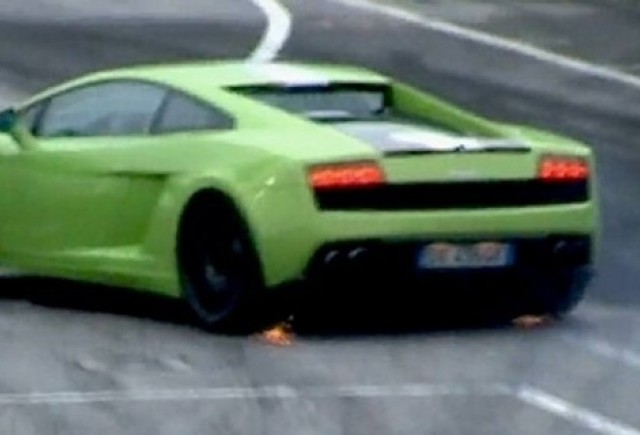 VIDEO: Lamborghini Balboni extreme drifting