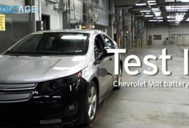 VIDEO: Chevrolet testeaza bateria lui Volt