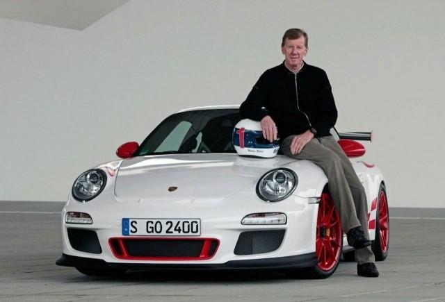 Walter Rohrl, pilot Porsche la cursa de 24h de la Nurburgring
