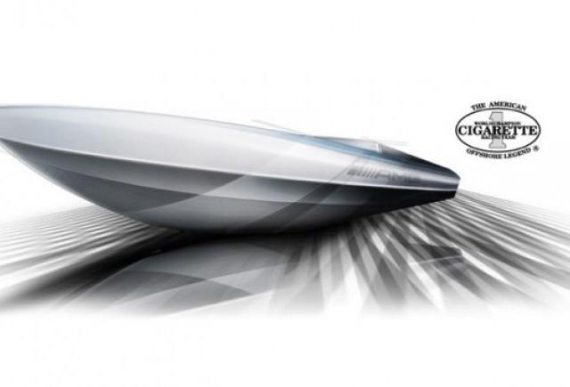 Barca inspirata din Mercedes SLS AMG