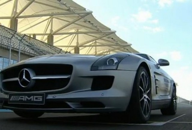 VIDEO: Nico Rosberg testeaza Mercedes SLS AMG