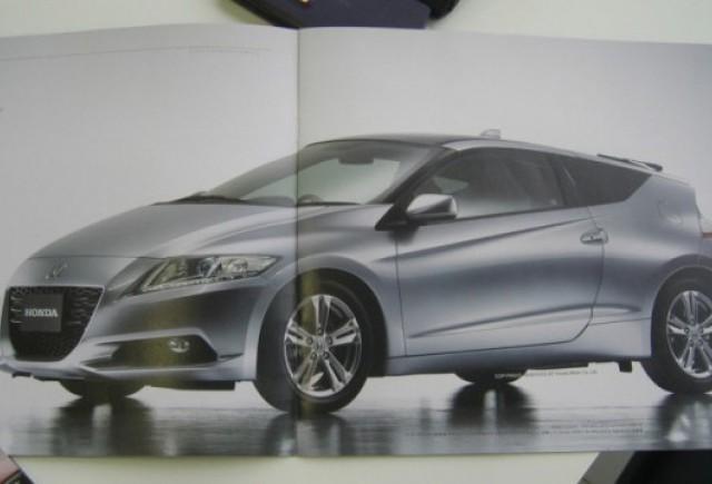 Brosura noului Honda CR-Z