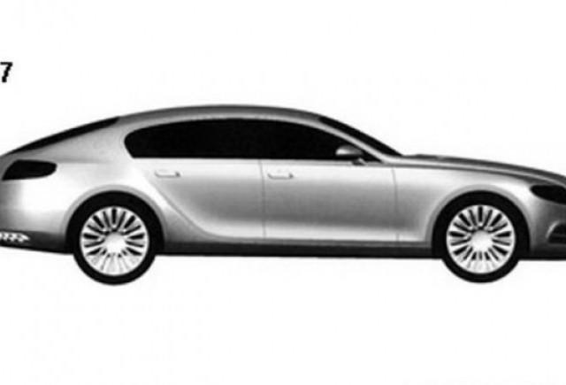Bugatti a inregistrat design-ul noului 16C Galibier Sport sedan