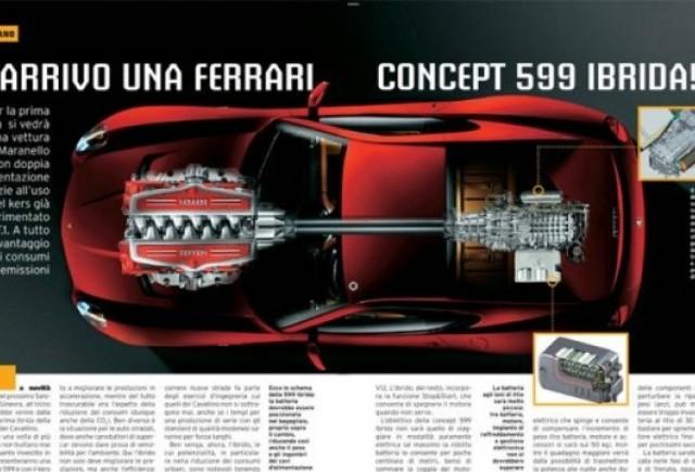 Primul Ferrari 599 GTB hibrid