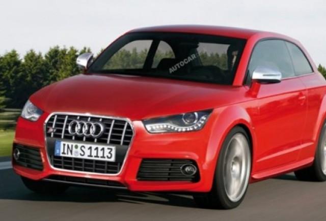 Noul Audi S1 va fi concurentul direct al lui Mini Cooper S