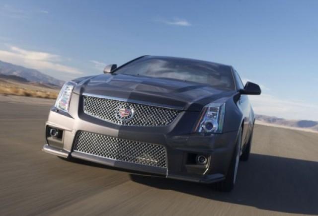 Avanpremiera Detroit 2010: Cadillac CTS-V Coupe
