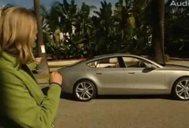VIDEO: A7 Sportback Concept, prezentat de designerul-sef de la Audi