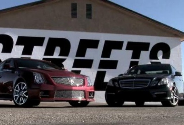VIDEO: Cadillac CTS-V vs. Mercedes E63 AMG