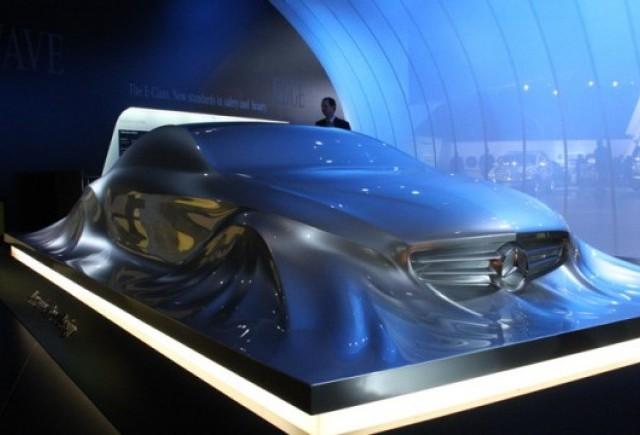 Detroit LIVE: Sculptura Mercedes, noul design al marcii