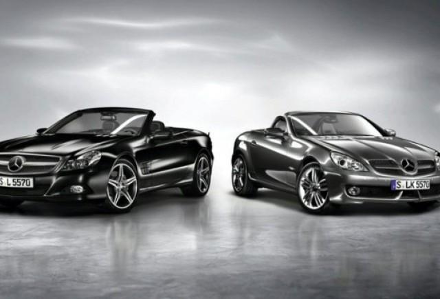 Editii speciale Mercedes pentru SL si SLK