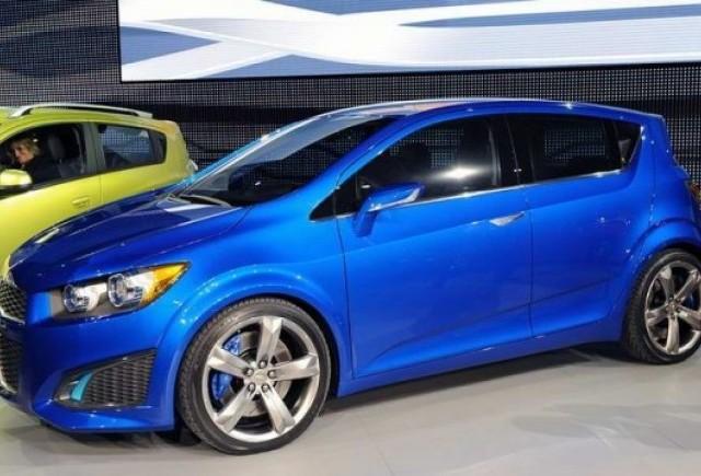 Detroit LIVE: Chevrolet Aveo RS concept