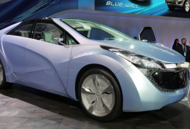Detroit LIVE: Conceptul Hyundai Blue-Will PHEV