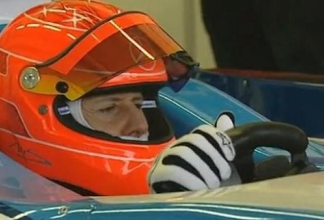 VIDEO: Schumacher a inceput testele pentru noul an din Formula 1